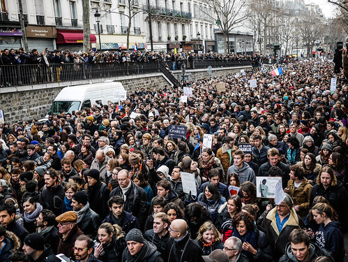 #MarcheDu11Janvier #JeSuisCharlie #MarcheRepublicaine Paris