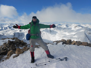 Winter Summit of Mt. Elbert - Success!