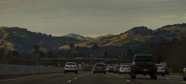 Highway 101 north of San Francisco (2015)