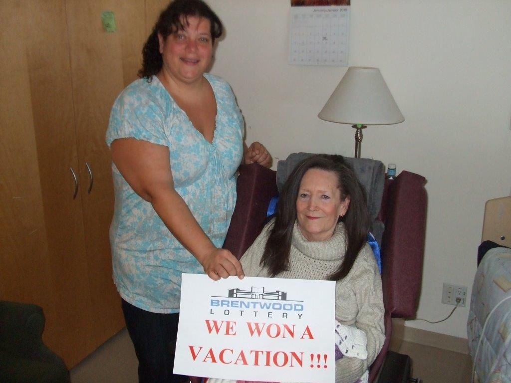 Winner of the Dream Vacation