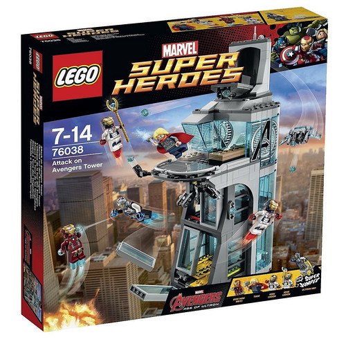 LEGO Marvel Super Heroes 76038 Box