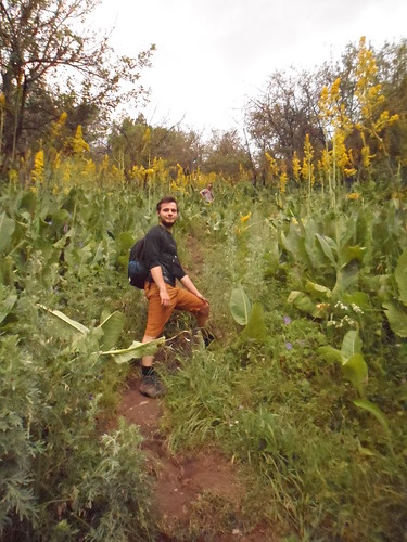 Kamil and the walk to Kumbel Peak