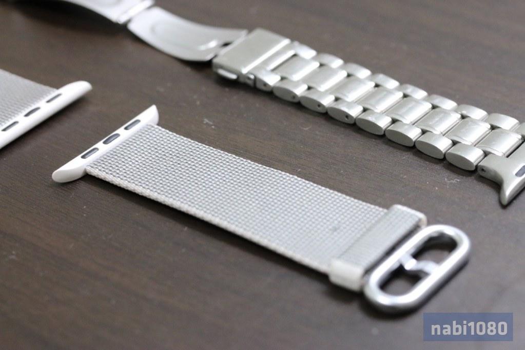 Apple Watch ウーブンナイロンバンド08