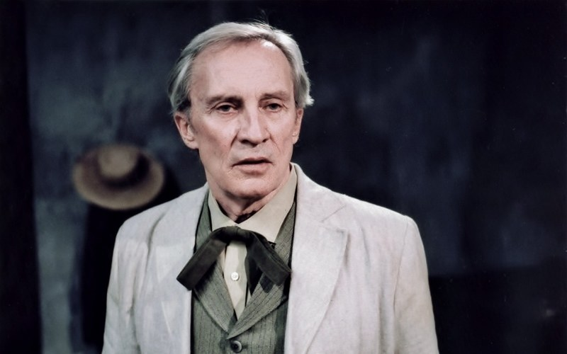Roy Thinnes as Dr. Peyron Film production still The Eyes of Van Gogh Barnett