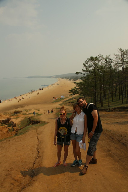 Walking on Olkhon Island