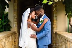 💕  Ena & Koffi   💍  #GhanianWedding   Wedding dress👗: @bridalsbynatalie   makeup 💄: @shanddy_mua l Venue: @morais_wedding @moraisvineyards