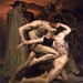 William-Adolphe Bouguereau, Dante and Virgil in Hell, 1850 by geldenkirchen