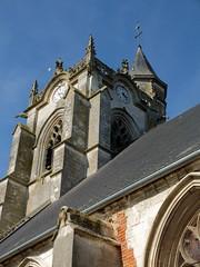 CRECY-EN-PONTHIEU : Eglise Saint-Séverin (clocher)