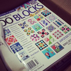 For my customer that have been waiting patiently for their copies of @quiltmakermag #100blocks, my order has arrived and I will be shipping signed copies today with a special thank you for your patience! If you haven't bought yours yet, I still have a few