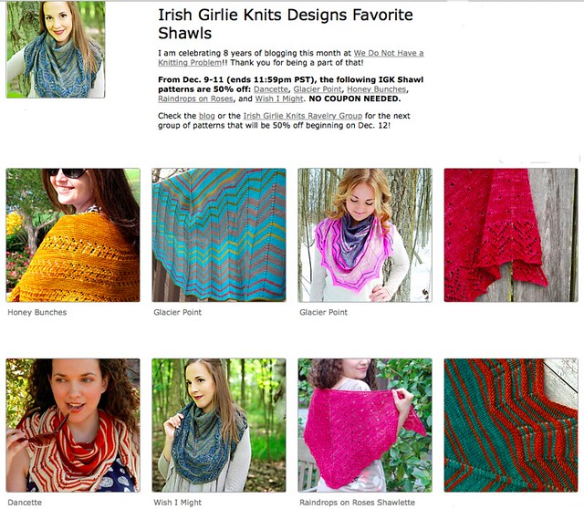 IGK Favorite Shawls Sale