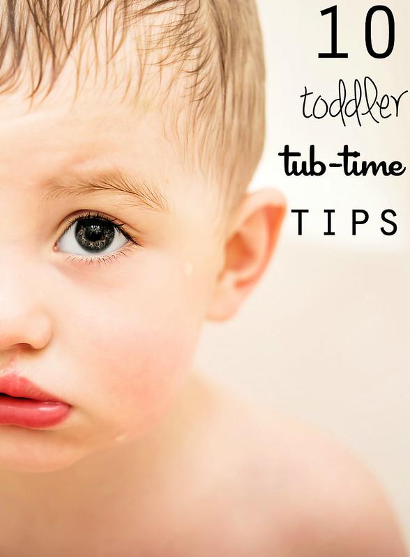 #johnsonspartners 10 toddler tub-time tips bathtime