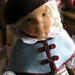 Roxana - soft sculpted cloth doll made by Lalinda.pl by Lalinda.pl