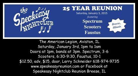 Speakeasy Reunion 1-3-15