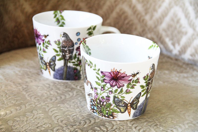 Muggar från Hemtex med mönster av Nadja Wedin