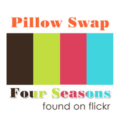 Pillow Swap Four Season