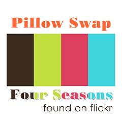 Pillow Swap Four Season