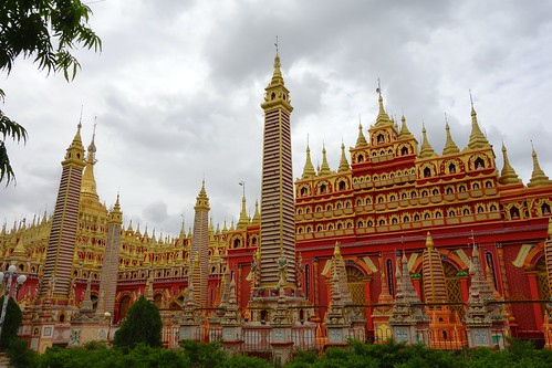 Thanboddhay Pagoda in full glory