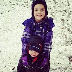First day of snow! #JohnGStevens