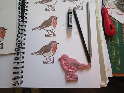 Robin Stamp, In progress