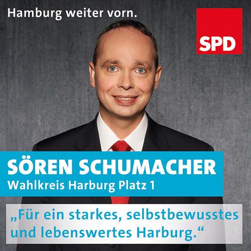 Sören Schumacher Kadidat im WK Harburg