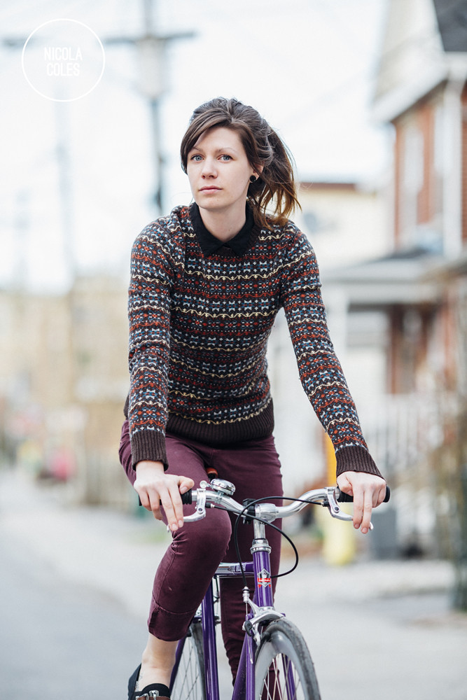 Nicola Coles and her Bicycle 2