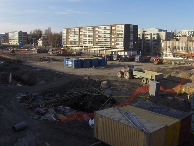Hämeenlinnan moottoritiekate ja Goodman-kauppakeskus: Työmaatilanne 22.4.2012 - kuva 8