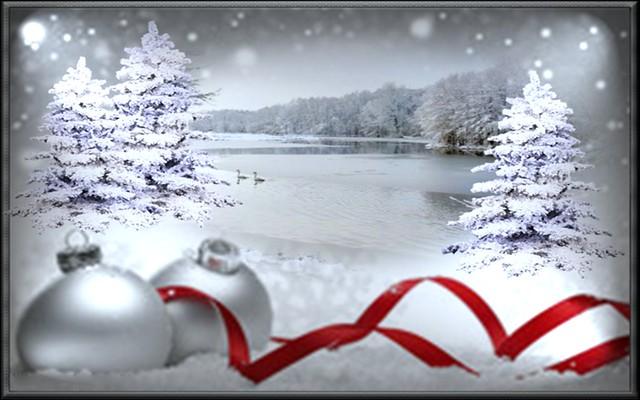 Snowflakes at Christmas