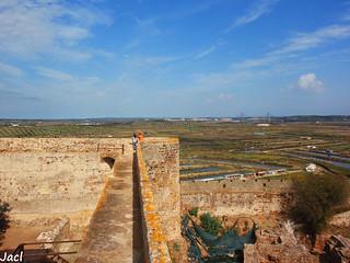 Image of Castro Marim Castle near Castro Marim. castle portugal faro algarve castillo castromarim