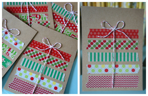Present Washi Tape Cards