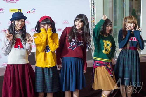 ANIME IDOL ASIA 2014 - Yumemiru Adolescence signing session