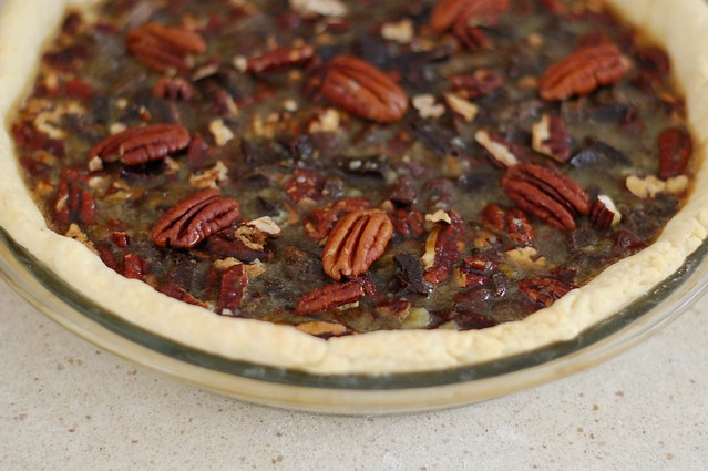 Maple Pecan Chocolate Pie by Eve Fox, the Garden of Eating, copyright 2014