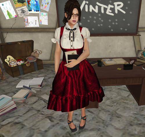 Miss Phire - the teacher