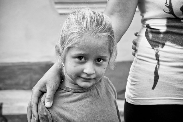 Girl, Tinca, Romania