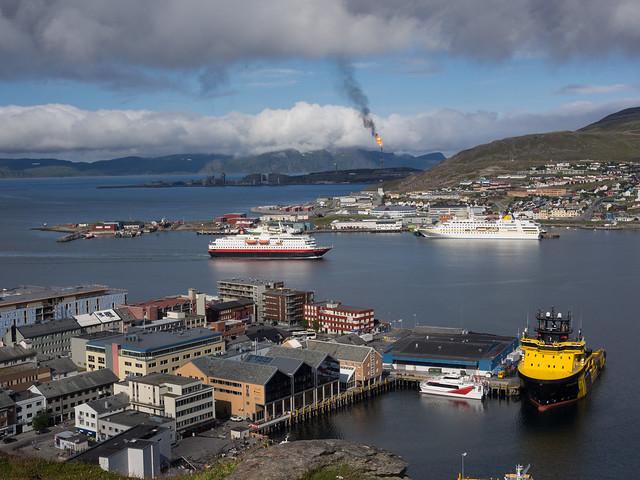 Hammerfest (5): harbour