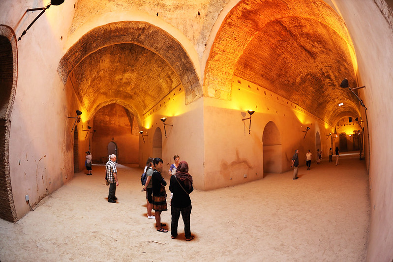Granaries of Moulay Ismail