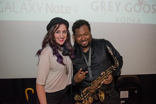 DJ Kasey Berry and Saxophonist Kareem Wilkes