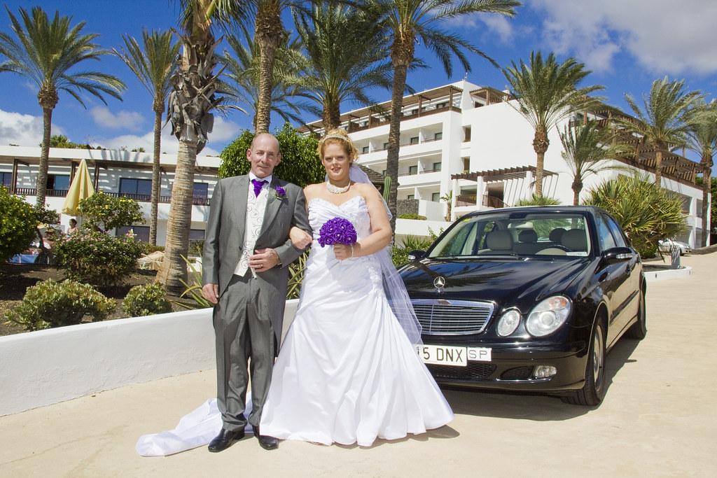 Wedding in Lanzarote at the Hesperia hotel in Puerto Calero