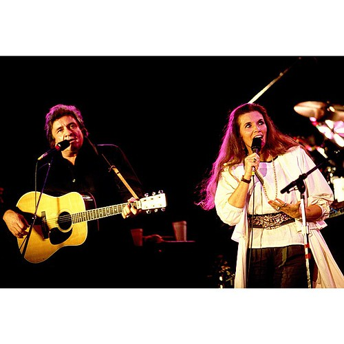 #tbt Johnny Cash and June Carter Cash performing at Farm Aid!