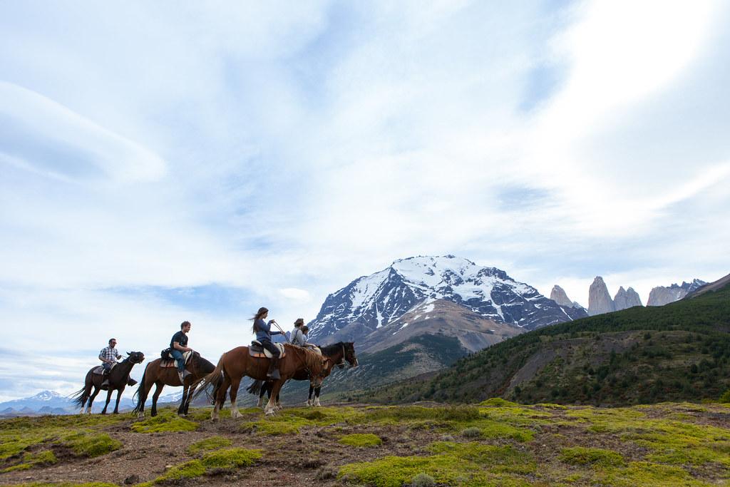 Patagonia Horse Riding through Torres del Paine NP - Patagonia, Chile