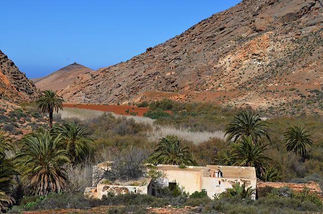 North African landscape, Fuerteventura
