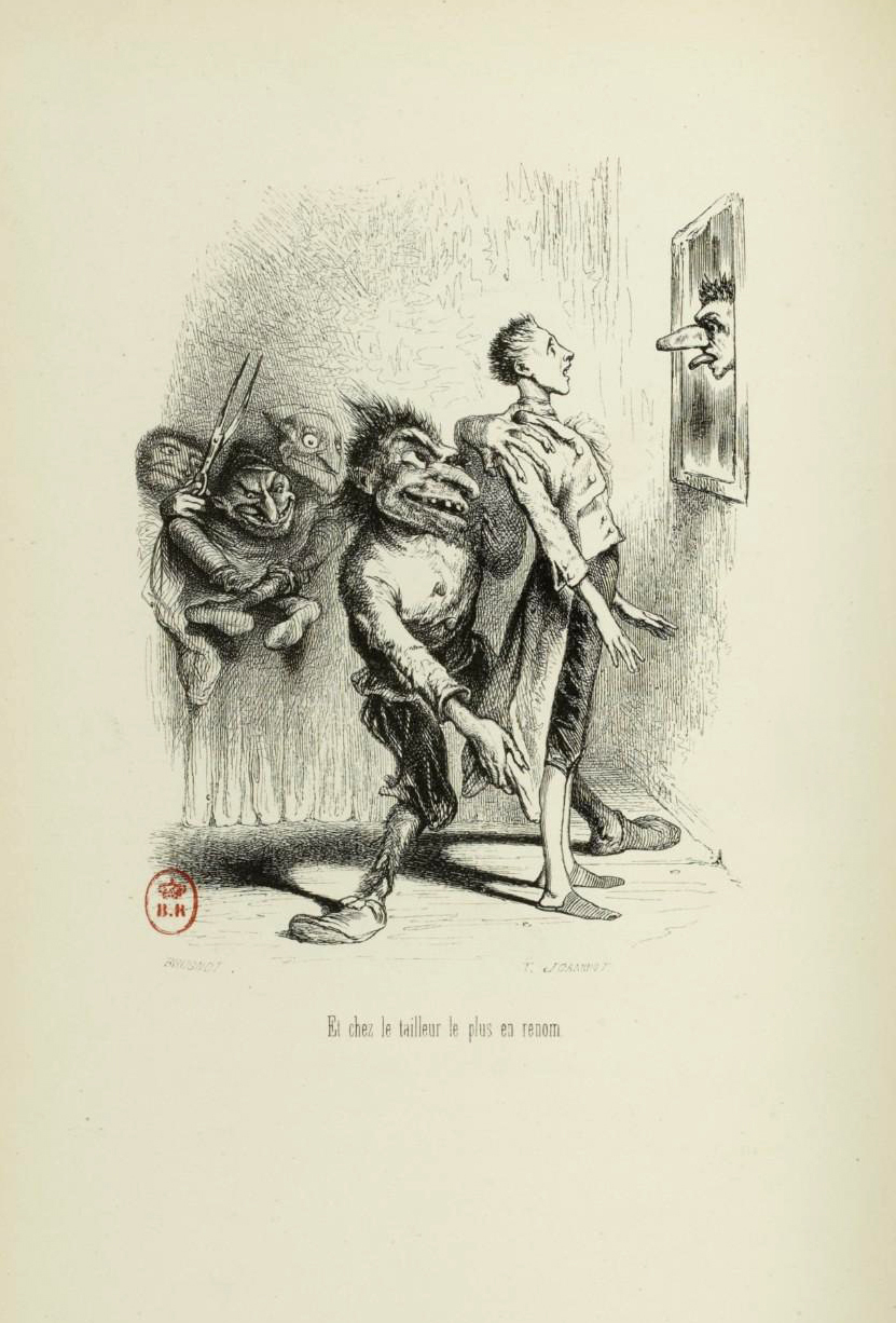 "Tony Johannot - Illustration for ""Voyage où il vous plaira"" by Musset and Stahl (1843) 18"