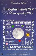 Maan agenda 2015 ~ Cirkel van het Leven