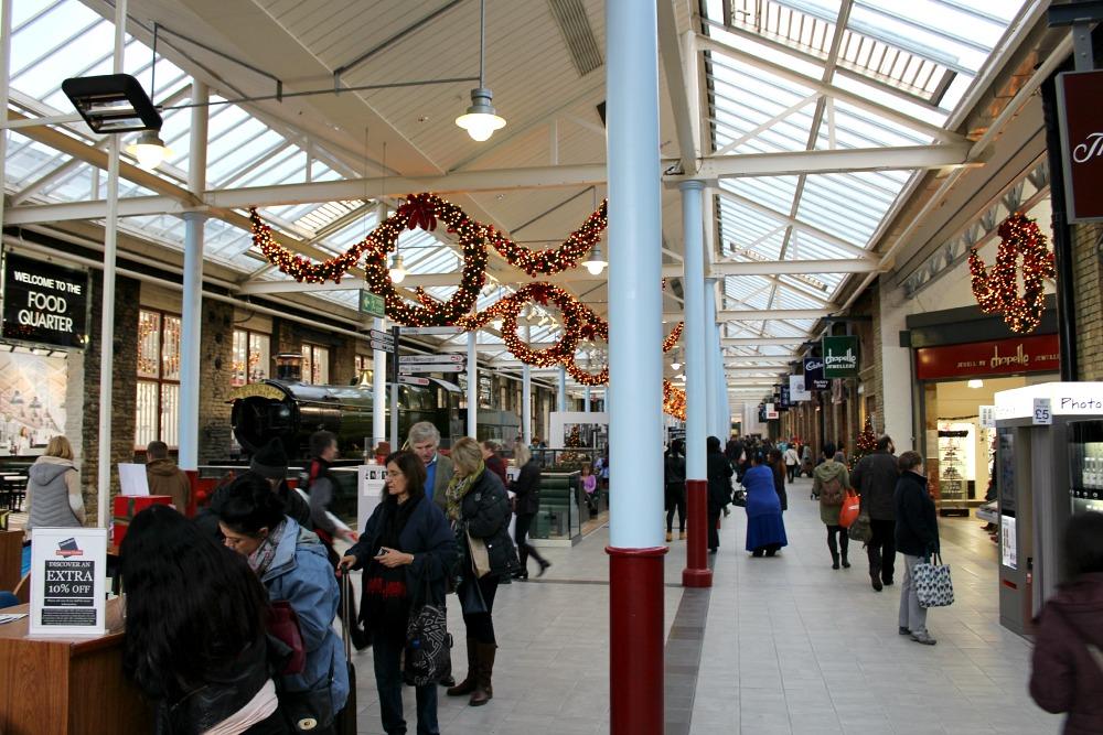 Swindon Designer Outlet Christmas 2014