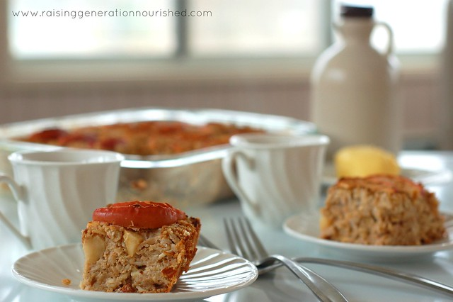 Gluten Free Apple Cinnamon Baked Oatmeal