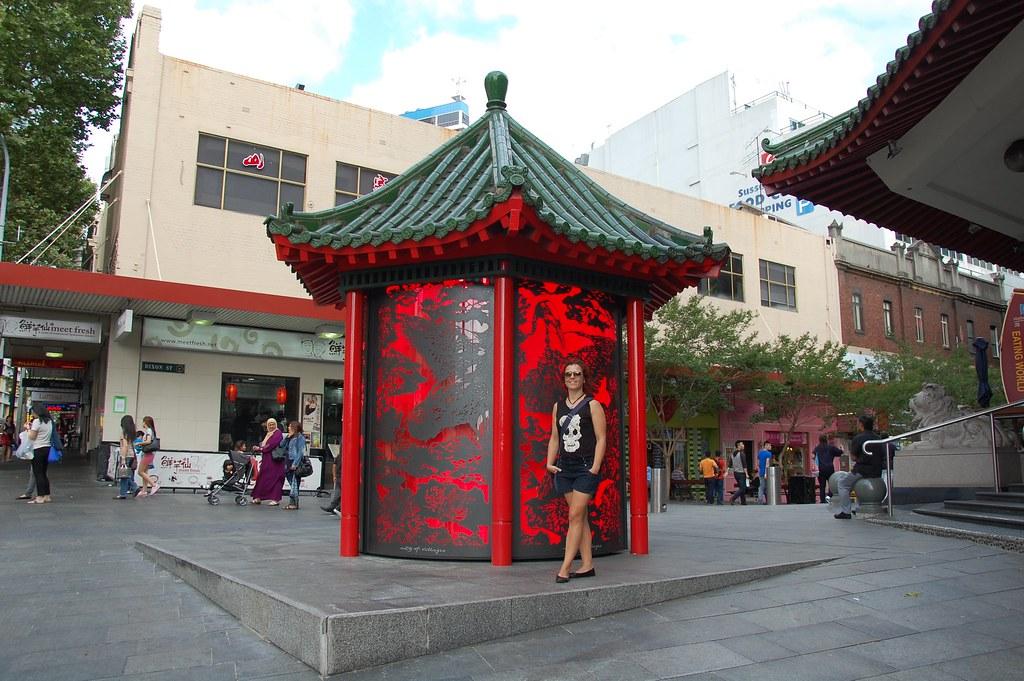 Barrio chino en Sídney
