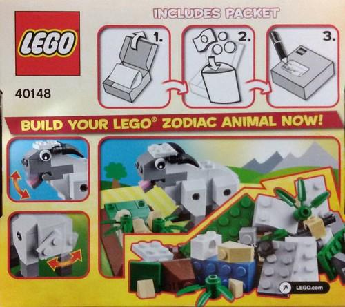 LEGO 40148 Back