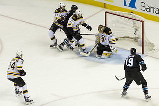 Goal by Joe Pavelski