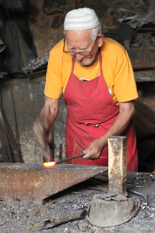 90 year old blacksmith