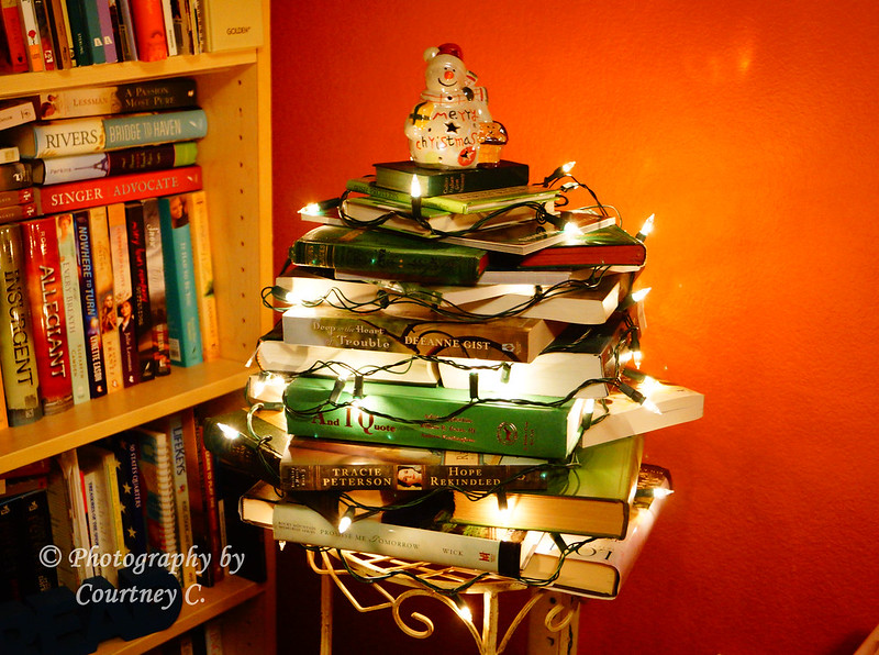 Bookish Christmas Tree