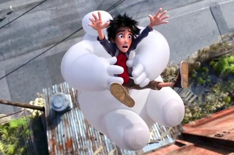 【電影】迪士尼動畫大英雄天團‧可愛的杯麵我也想要有一隻 @魚樂分享誌